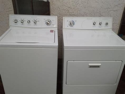 Large Capacity Kitchenaid Washer And Dryer Victoria City