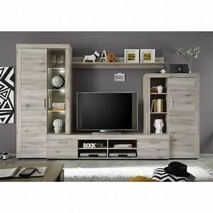Meuble Tv Mur : meuble tv mural achat vente meuble tv mural pas cher ~ Teatrodelosmanantiales.com Idées de Décoration