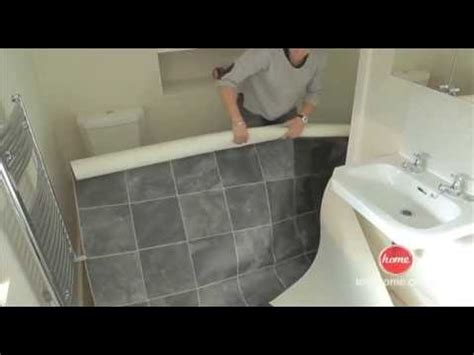 diy   lay vinyl  lino flooring youtube