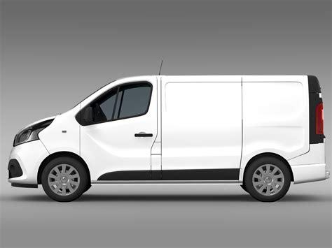 renault vans renault trafic van 2015 by creator 3d 3docean