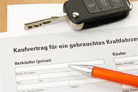 auto kaufvertag privat tipps mustervertrag fuer