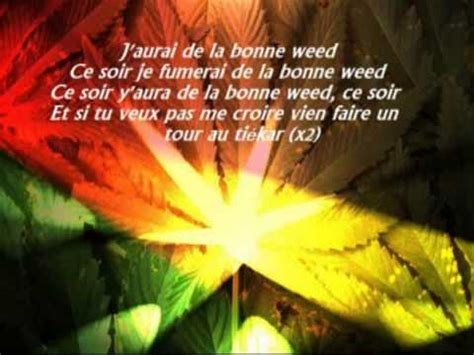 tairo bonne weed paroles youtube