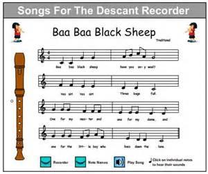 Easy Recorder Songs