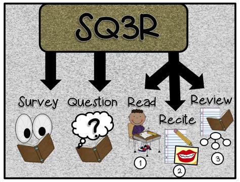 sq3r 3 6 free resources sq3r reading strategy freebie
