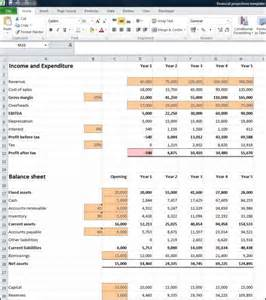 Financial Forecast Template Excel by Financial Projections Template