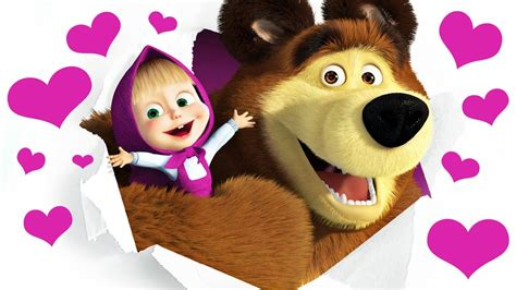Masha And The Bear Play In English Classes To Learn How To