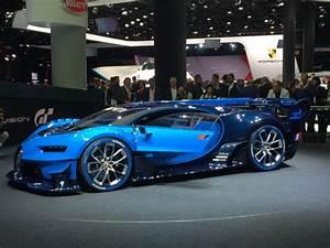 Image Bugatti Vision Gran Turismo Concept 2015 Frankfurt ...