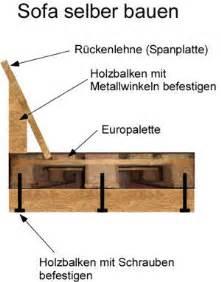 sofa selber bauen polster anleitung sofa aus paletten otocarmagz