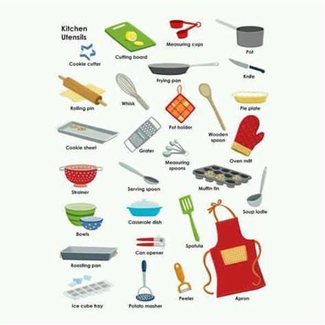 kitchen utensils kitchen vocabulary pinterest head  cooking  kitchens