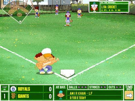 backyard baseball unblocked backyard baseball 1997 free version 28 images baseball