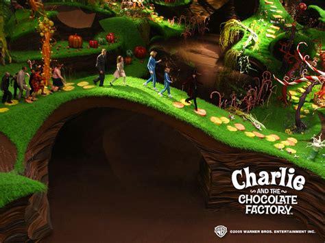 charliethe chocolate factory tim burton wallpaper