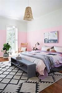 Decoration Mur Interieur : id e d co peinture int rieur maison les murs bicolores respirent l quilibre ~ Teatrodelosmanantiales.com Idées de Décoration