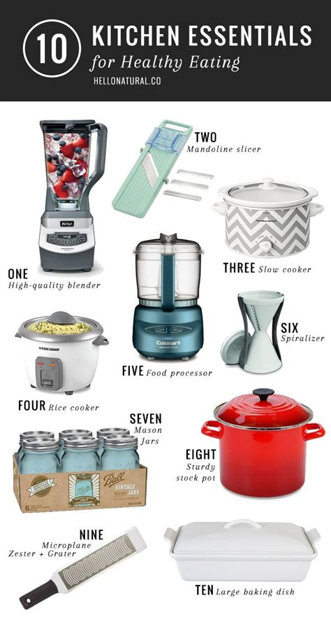 25+ Best Ideas About Kitchen Essentials List On Pinterest
