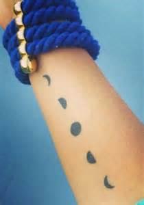 moon phase tattoo  pinterest tattoos  body art moon tattoos  greek tattoo