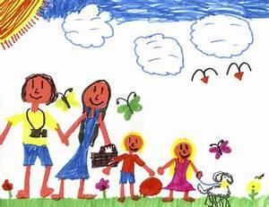 Gemalte Bilder Von Kindern : kinderspuren bilder zeichnungen und wandmalereien die seite f r v ter ~ Markanthonyermac.com Haus und Dekorationen