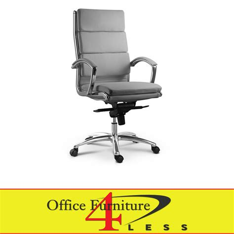 c 307hg executive highback swivel chair grey office