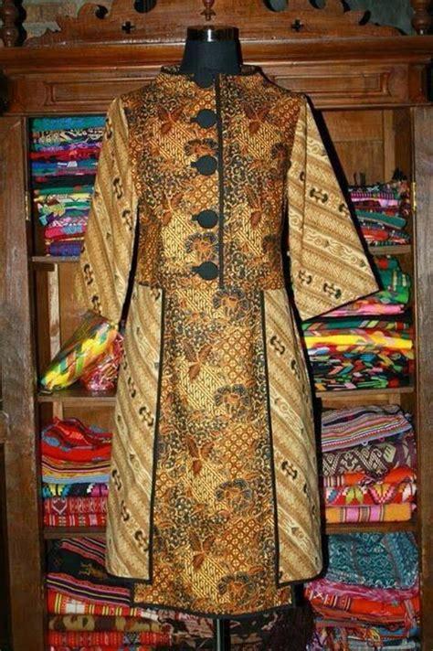 pin  nur pahlawani  batik batik dress dress batik