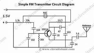 Simple Fm Transmitter Circuit Schematic