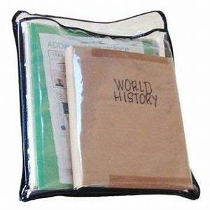 the subject sleeve is a tough clear vinyl pouch perfect With clear binder sleeves