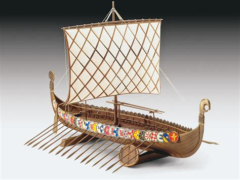 Parts Of A Longboat by Revell Germany 1 72 Viking Ship