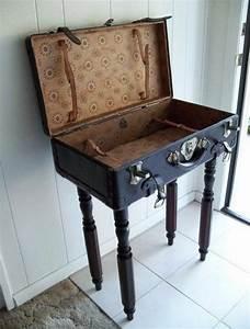 Vintage Look Möbel : vintage look m bel beistelltisch koffer einrichtung pinterest koffer beistelltische und ~ Orissabook.com Haus und Dekorationen