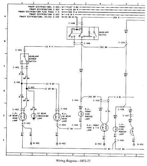 77 Bronco Wiring Diagram by Fuel Injection Technical Library 187 Early Bronco Wiring