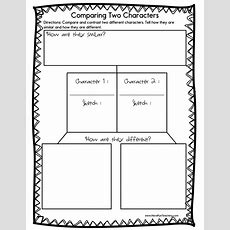 Resources  Reading  Compare And Contrast Worksheets