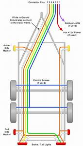 Trailer Wiring Diagrams For Single Axle Trailers And Tandem Axle Trailers In 2019