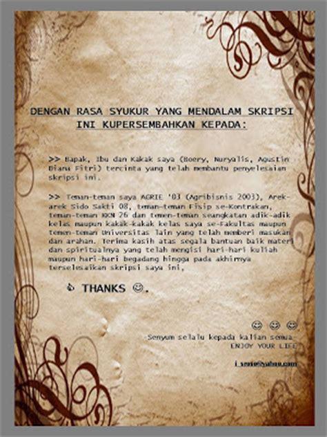 skripsi suim halaman motto  persembahan