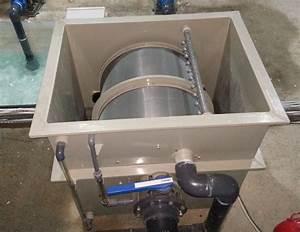 Koi Pond Rotary Drum Filter For Aquaculture
