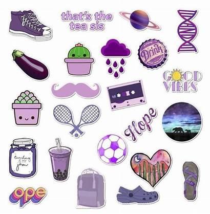 Vsco Stickers Purple Lessons Ten Learn