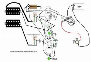 tony iommi pickups magnum 4 and hyperflux 5 guitar With les paul jr wiring