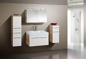 Waschbecken Mit Unterschrank 90 Cm : design badm bel set spiegelschrank waschbecken 90 cm ~ Bigdaddyawards.com Haus und Dekorationen