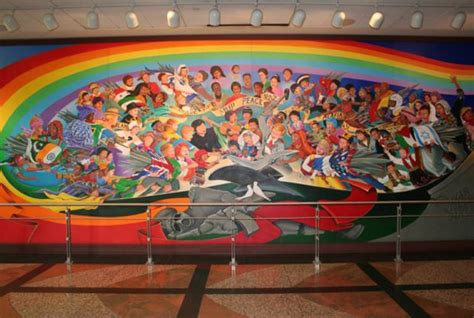 denver international airport murals in order denver international airport at the centre of an nwo