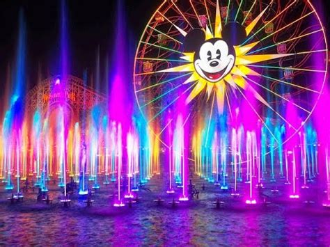 Disneyland Light Show by Disneyland S World Of Color Welcomes Its Season Of Light