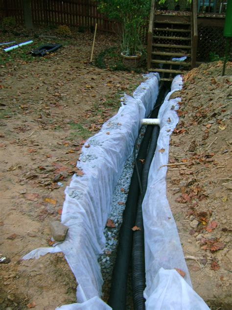french drain orvis oasis