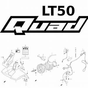 Suzuki Lt50 Quad Parts Diagrams Now Online