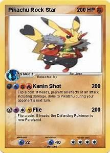 Pokémon Pikachu Rock Star 5 5 - Kanin Shot - My Pokemon Card