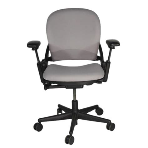 steelcase leap v1 chair in new grey fabric 2ndhnd