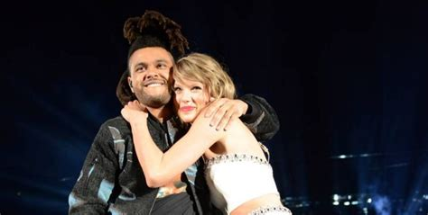 Taylor Swift Likes To Pet The Weeknd's Hair :: Hip-Hop Lately