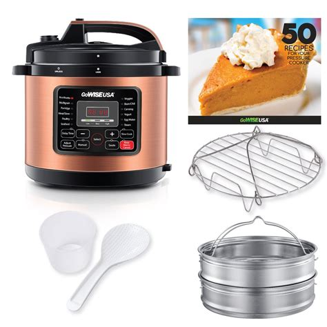 cooker pressure accessories copper cup qt basket stainless