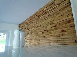 Wandverkleidung Mit Holzpaneele
