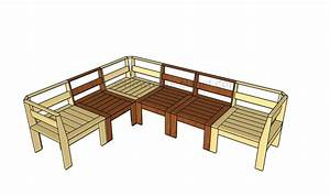outdoor sectional plans howtospecialist how to build With build sectional outdoor sofa