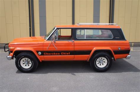 jeep chief 1979 buy used 1979 jeep cherokee chief s survivor same owner