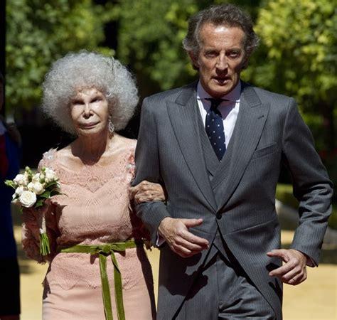 royal couturecayetana duchess  alba  married