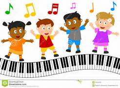 kids-dancing-on-piano-keyboard-children-singing-and-dancing-clipart  Child Dancing Clipart