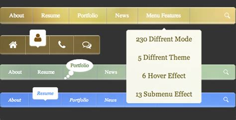css template top bar blog archives
