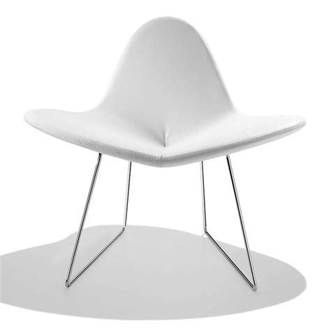 fauteuil bureau cuir blanc petit fauteuil design blanc my flower sur cdc design