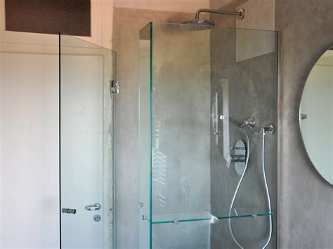 mensola doccia doccia ad angolo