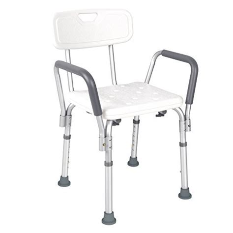jcmaster shower chair with back and arms lightweight